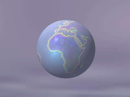 3D Globe Stock Photo - 7551447