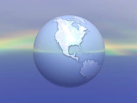3D Globe Stock Photo - 7551441