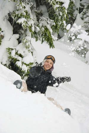 warkentin: Having fun in the snow