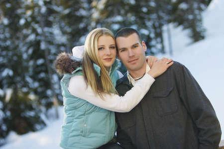 warkentin: Couple embracing