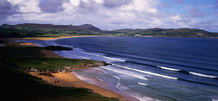 distantly: Ballymastocker Bay, Donegal, Ireland