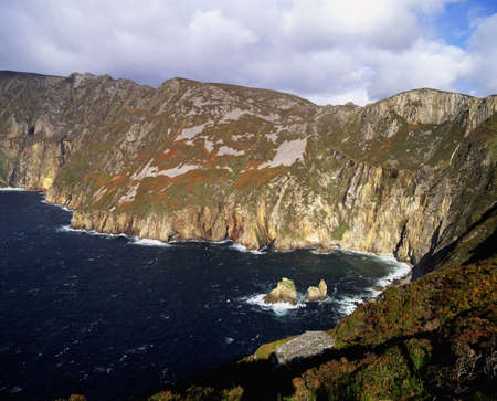 Slieve League, Co. Donegal, Ireland Stock Photo - 7559547