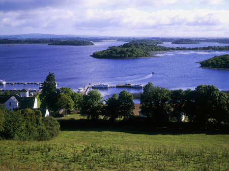 lough: Knockninny in Lower Lough Erne, Fermanagh, Ireland LANG_EVOIMAGES