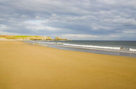 peacefully: Bunmahon Strand Copper Coast, Co Waterford, Ireland LANG_EVOIMAGES