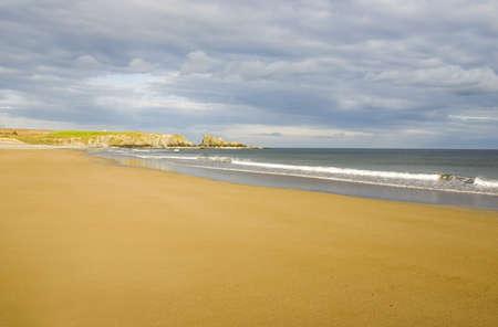 Bunmahon Strand Copper Coast, Co Waterford, Ireland Stock Photo