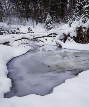 Nevoso creek  Archivio Fotografico - 7559478