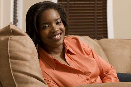 Woman smiling Stock Photo - 7559366