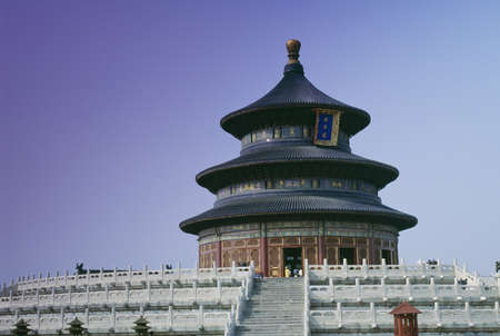temple of heaven: Temple of Heaven in Beijing, China   LANG_EVOIMAGES