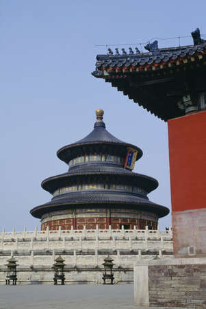 Temple of Heaven in Beijing, China 免版税图像