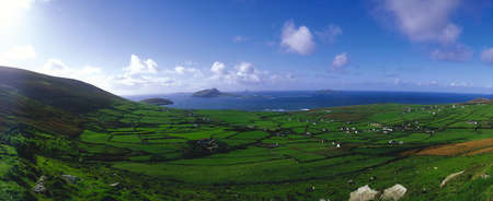 distantly: Blasket Islands & Dunquin, Dingle Peninsula, Co Kerry, Ireland