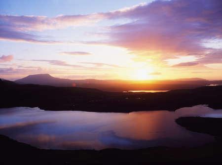lochs: Co Donegal, Lough Salt, Ireland