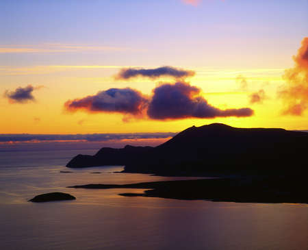 Co Mayo, Achill Island, Ireland Stock Photo