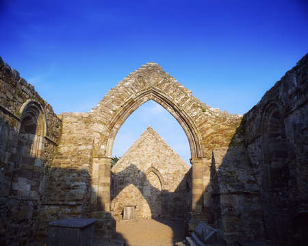 abbeys: Ancient Abbey, Ardmore, Co Waterford, 12th Century, Ireland
