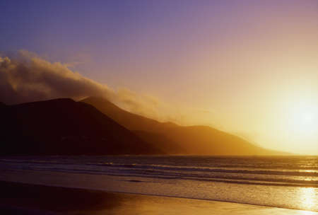 Co Kerry, Glenbeigh Beach, Ireland Stok Fotoğraf