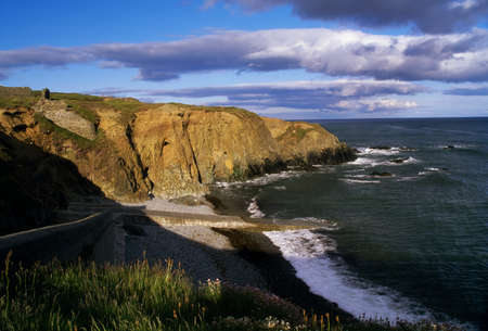 Copper Coast near Bunmahon, County Waterford, Ireland Stock Photo - 7559412