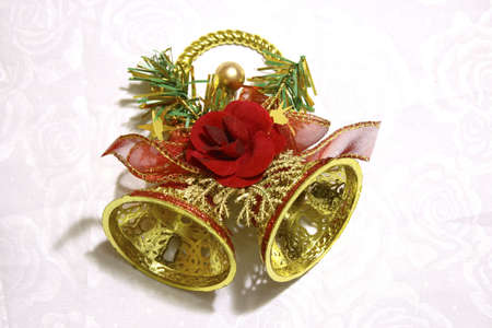 decoration: Christmas bell ornament