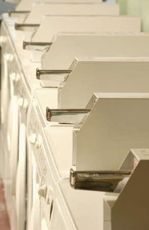 Row of dryers Stock Photo - 7559289