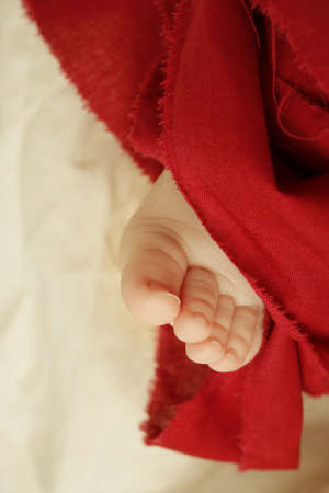 bodypart: Foot of a baby