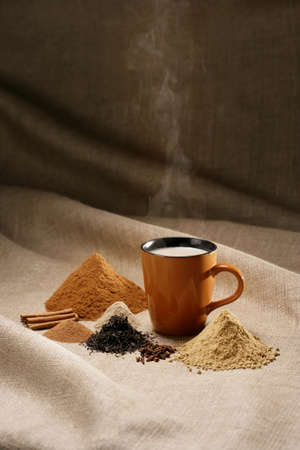 Coffee mug with spices Stock Photo - 7559335