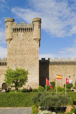 14th Century Castle of Oropesa, Toledo, Castilla-La Mancha, Spain   Stock Photo - 7559492
