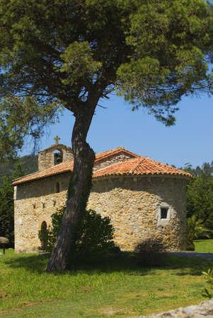 12th Century Ermita, San Román de Escalante, Cantabria, Spain Stock Photo - 7559534