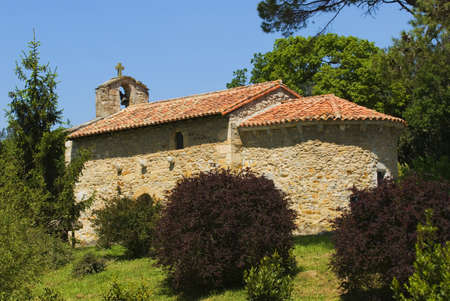 12th Century Ermita, San Román de Escalante, Cantabria, Spain Stock Photo - 7559545