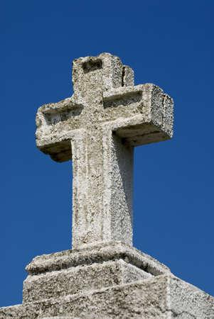 easter cross: Large stone cross, Northern Spain