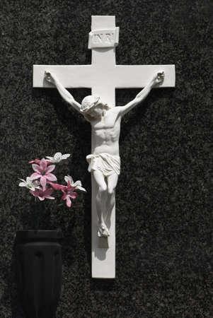 Carving von Christus am Kreuz  Standard-Bild - 7559354