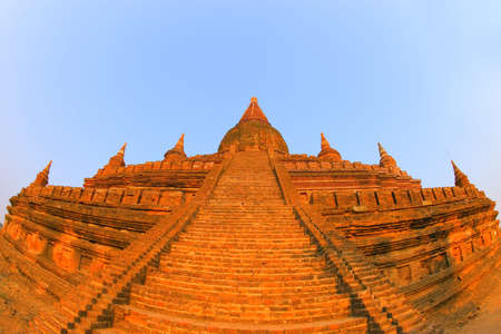 Stupa temple in Bagan, Myanmar Stock Photo - 7559416