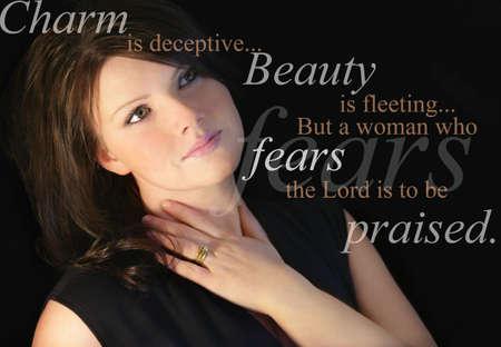 valores morales: Mujer de George
