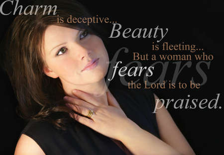 The Proverb's woman Stock Photo - 7559261