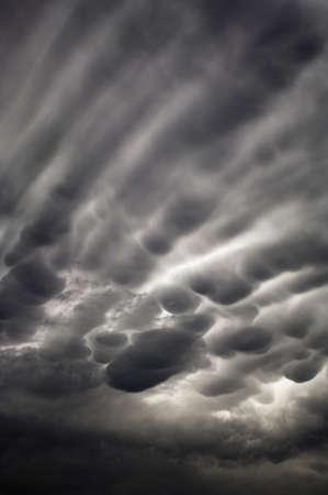 atmospheric phenomena: Bubbly storm clouds