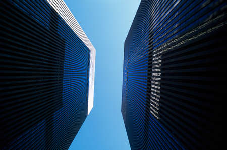 Imposing skyscrapers Stock Photo - 7559370