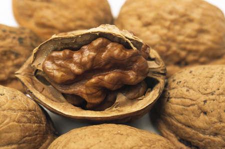 close up food: Walnut