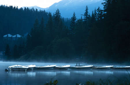 peacefulness: Boats in early morning