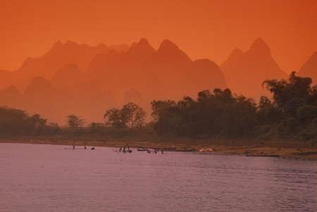 carson ganci: Asian sunset