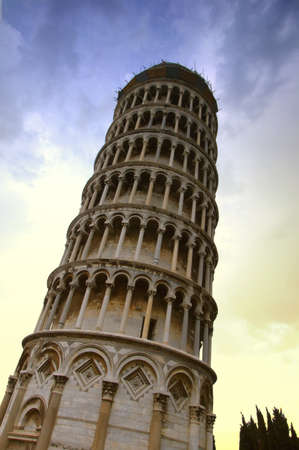 The Leaning Tower of Pisa,Tuscany,Italy