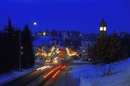corey hochachka: Traffic at night
