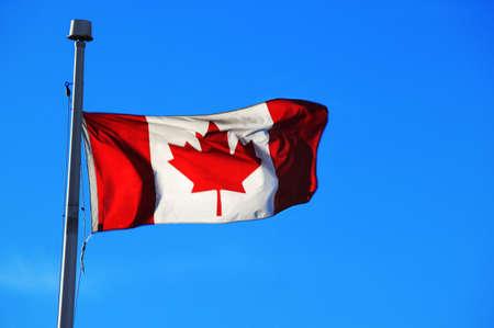 imaginor: The Canadian Flag Stock Photo