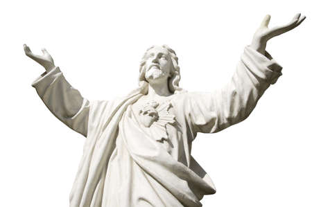 exalt: Hands stretched towards heaven Stock Photo