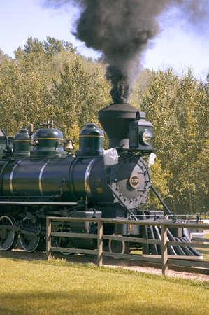 Steam train Banco de Imagens