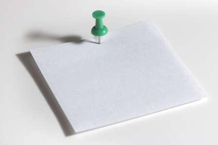 corey hochachka: Blank note pad Stock Photo