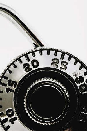 combination: Combination padlock Stock Photo