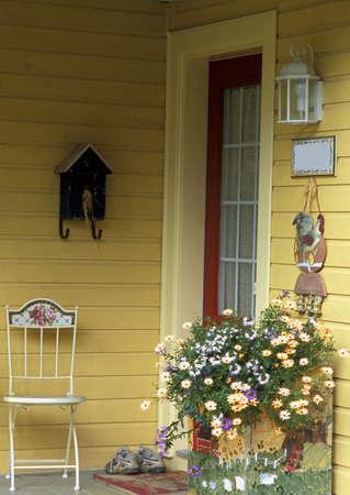 Vrij veranda Stockfoto