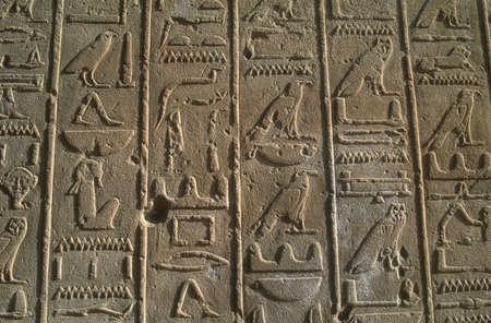 Egyptische kunst werk