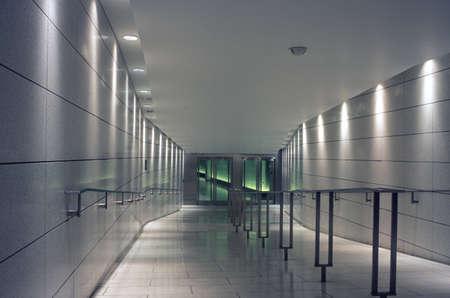 Modern corridor interior Foto de archivo