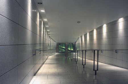 Modern corridor interior Stock Photo