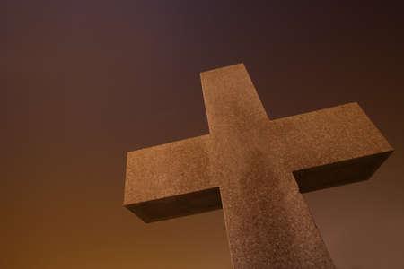 darren greenwood: Stone cross