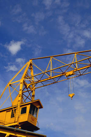 hoists: A crane