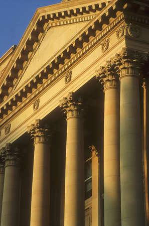 architectural detailing: Columns and fascia, Alberta Legislature, Edmonton, Canada